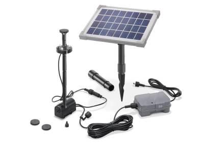 Teichpumpe Solar und Akku