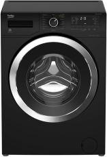 Schwarze Waschmaschine Beko