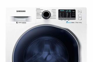 Waschmaschine und Trockner in einem