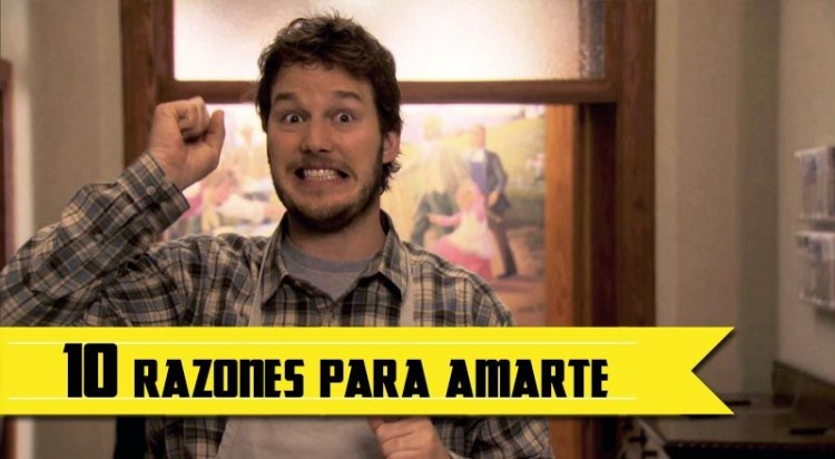 Razones amar Andy Parks and Rec
