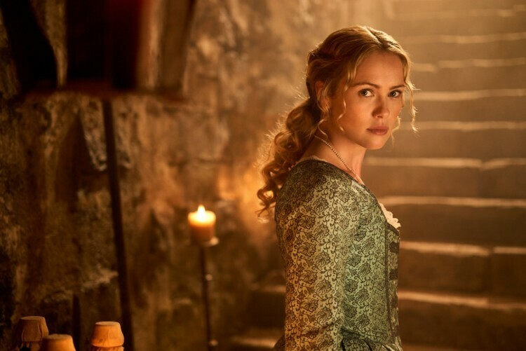 Hannah New es Eleanor Guthrie en Black Sails