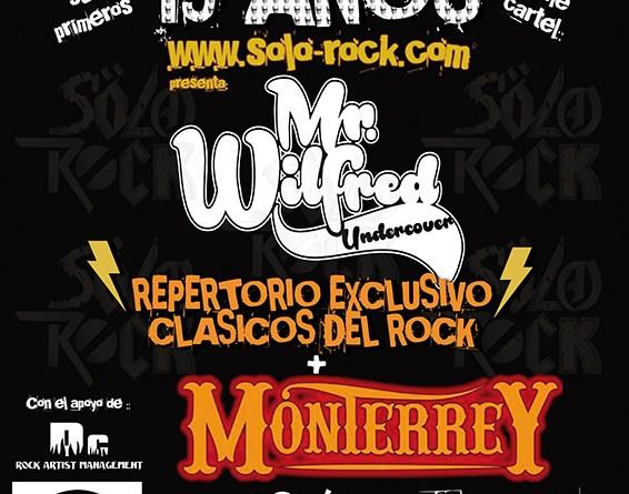 """MONTERREY y MR. WILFRED en el aniversario de la web """"Sólo-Rock"""" (21-12-2019 Sala Siroco, Madrid)"""