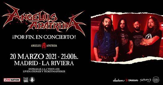 ÁNGELUS APÁTRIDA presentan su nuevo álbum en Madrid