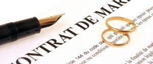 régime matrimonial contrat de mariage
