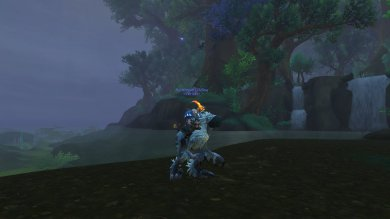 Gildina on her 296th mount, the Snowfeather Falcosaur