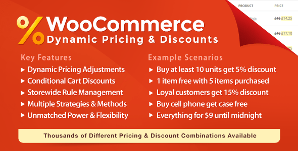 WooCommerce Dynamic Pricing & Discount