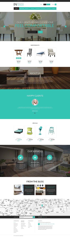 Interior & Furniture Responsive Magento Theme