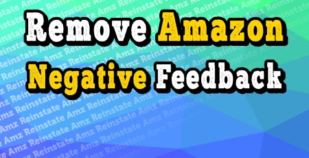 how to remove negative feedback