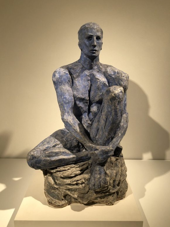 Lucio Fontana, Olympic Champion (Waiting Athlete), 1932