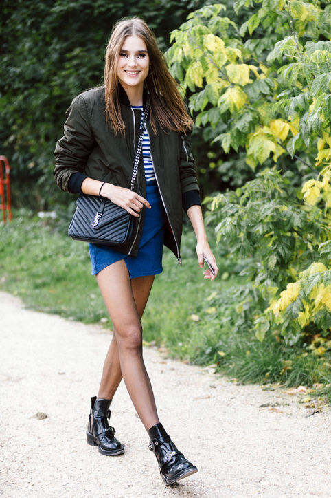 ankle-booties-wrap-mini-skirt-bomber-jacket-h724