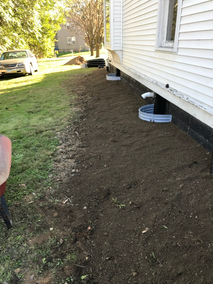 Backfill with Topsoil