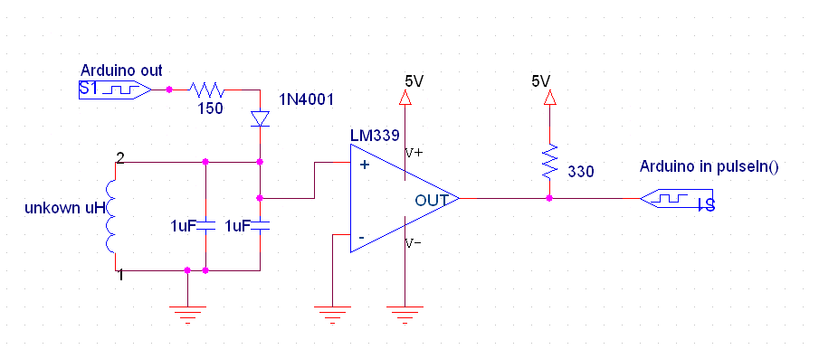 Easily Measuring Inductance With Arduino