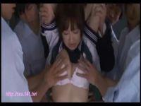 ショートカットの美少女が同級生達に輪姦されおまんこを嵌められ続けてる無理矢理犯している動画無料