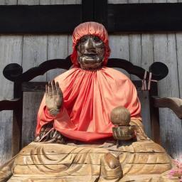Reisetipps Kyoto: Statue im Todai-Ji Tempel