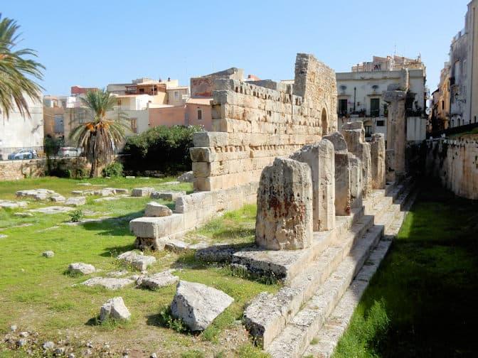 Syracuse, Tempel van Apollo