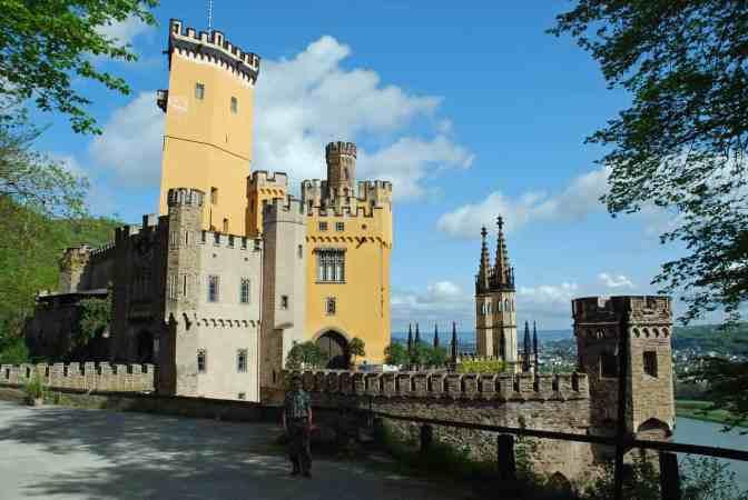 Schloss Stolzenfels Koblenz aan de Rijn