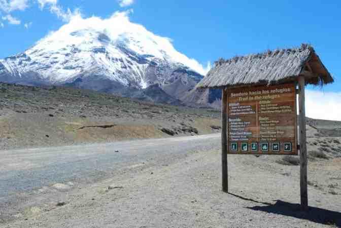 Ecuador, Chimborazo vulkaan