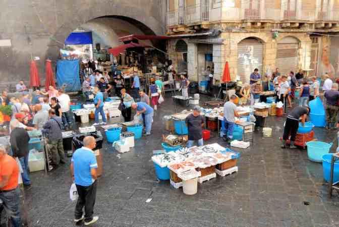 Vismarkt Catania, La Pescheria