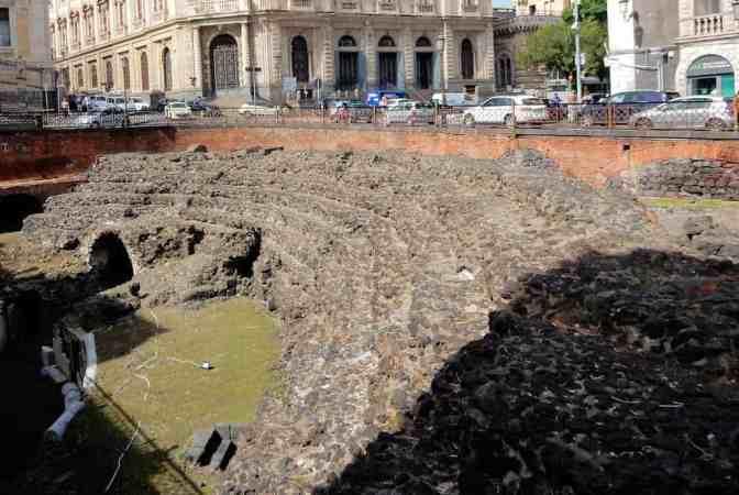 Romeins amfitheater van Catania