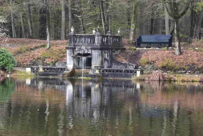 Waterval Kasteel Oude Loo