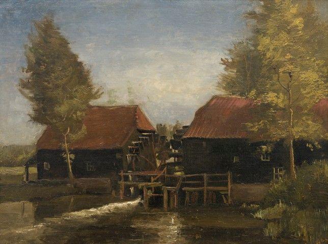 Vincent Van Gogh - Collse watermolen