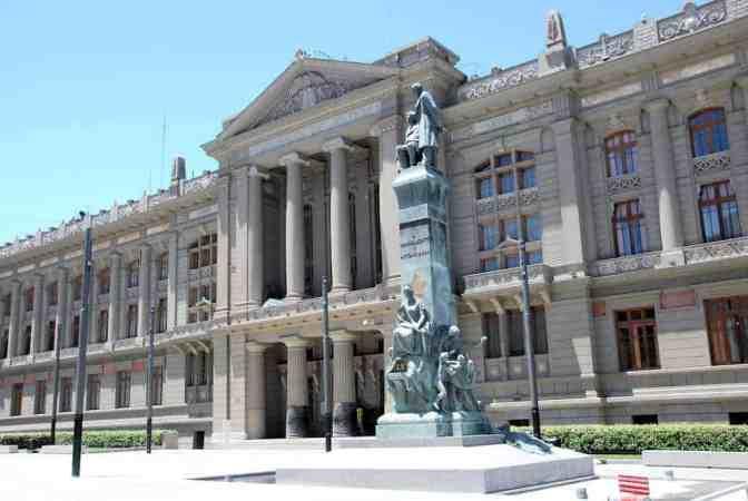 Palacio de los Tribunales, Chili de Justicia de Santiago