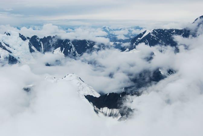 Alaska Range, rondvlucht Flightseeing Tour