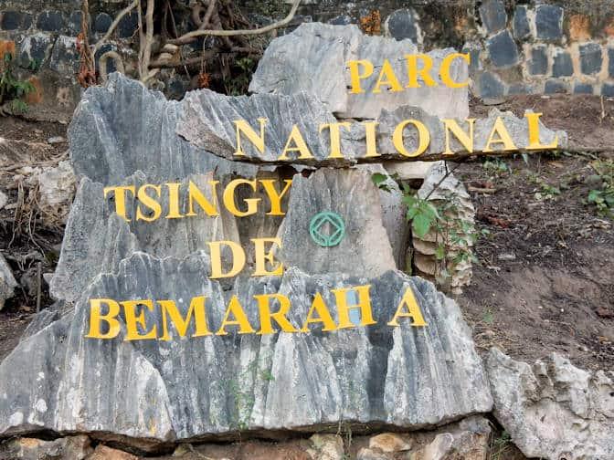 Tsingy de Bemaraha Nationaal Park