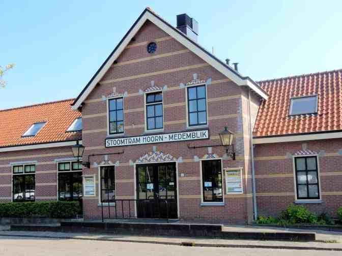 Stationsgebouw Hoorn - Museumstoomtram Hoorn-Medemblik