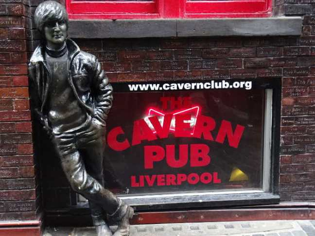 Liverpool 2016: The Cavern Club.
