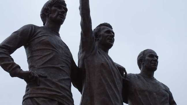 Manchester United - The United Trinity: Best Law Charlton.