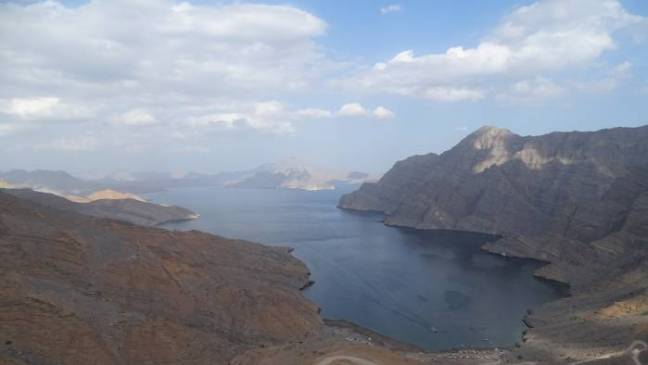 2018-12-23 Oman: Musandam - Jeep Mountain Safari.