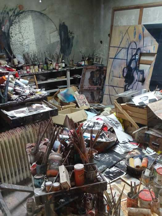 'The Dublin City Gallery – The Huge Lane' - Francis Bacon (1909-1992) - The Studio.
