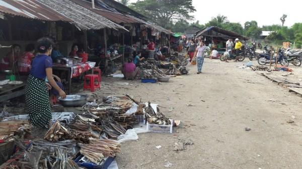 maungmagan fishmarket