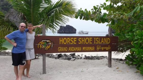 Horse Shoe island and Cock`s Comb island, Mergui Archipel, Myanmar, eine Reisebericht Myanmar 2017 von Doris und Walter im Süden Myanmars..