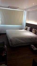 Zimmer 110 im ersten Stock, Ausblick auf Innenhof und sehr ruhig