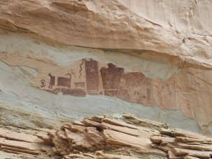 Petroglyphs Goblyn Valley State Park