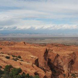 Arches Nationalpark Aussicht