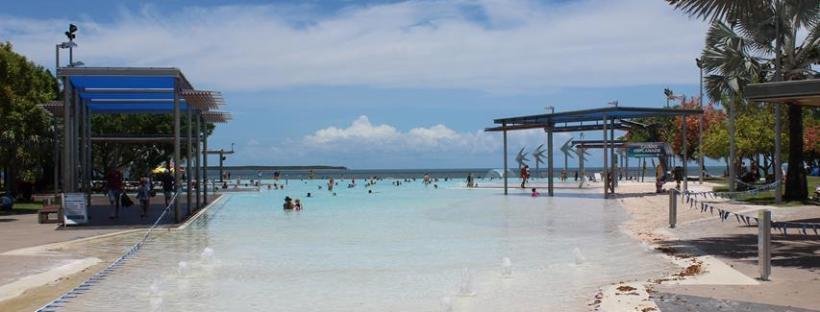 Chillen am Strand in Australien