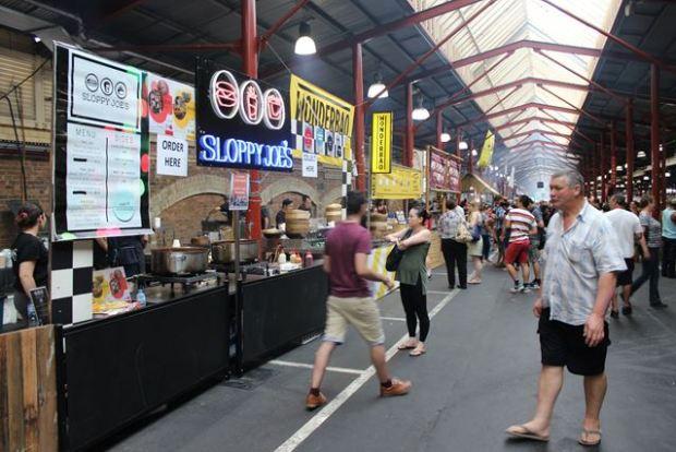 Backpacker Ausflug Victoria Market