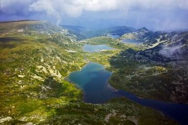 Die Sieben Rila-Seen in Bulgarien