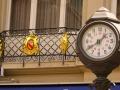 Baden Uhr und Wappen