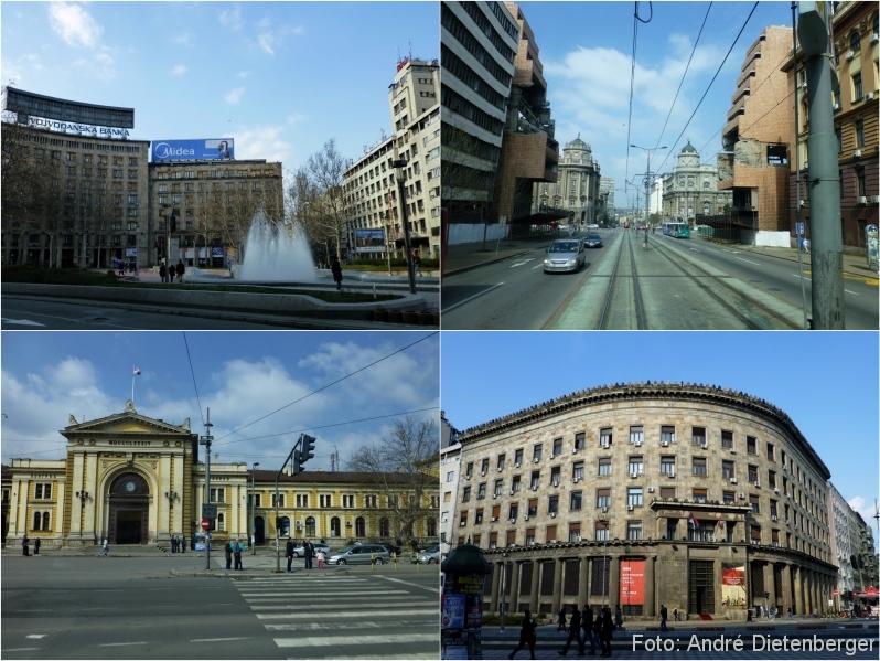 Belgrad - Gebäude