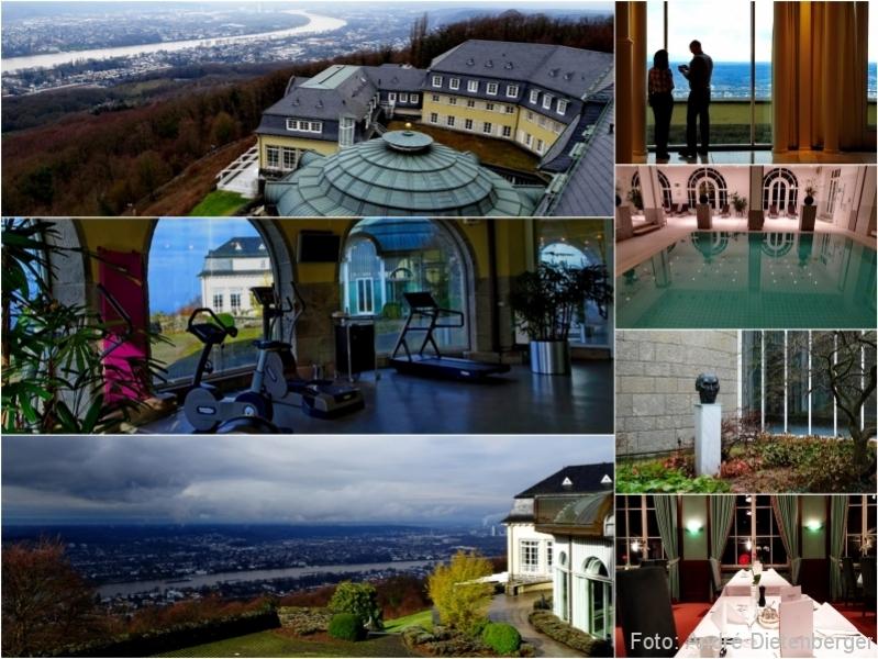 Grandhotel Petersberg - Aussicht, Restaurant und Wellness