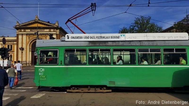 Belgrad - Hauptbahnhof & Basler Trämli
