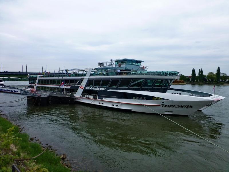 Rhein in Flammen - Schiff