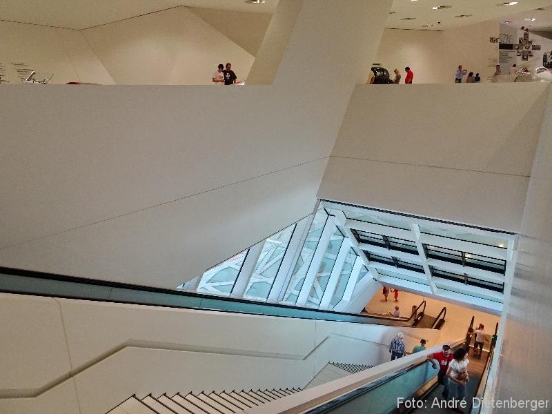 Porsche Museum Architektur