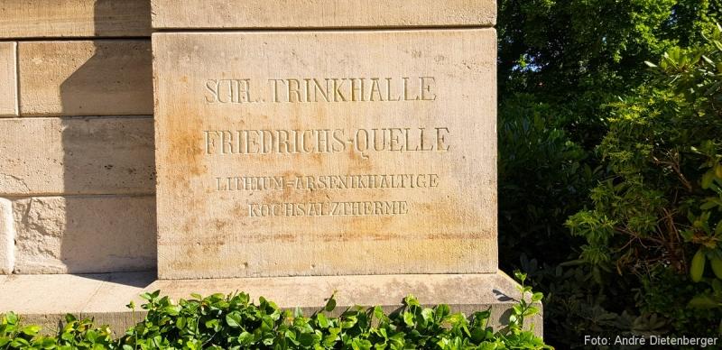 Trinkhalle Friedrichs-Quelle