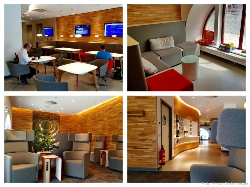 Neue DB Lounge