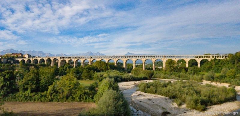 Viadukt Soleri, Cuneo